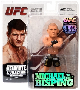 Round 5 UFC Ultimate Collector Series 13.5 LIMITED EDITION Action Figure Michael Bisping Only 1,000 Made!