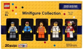 LEGO Bricktober 2013 Exclusive Set #5002146 Minifigure Collection Vol. 1/3