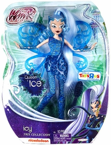 Winx Club Sirenix Exclusive 11.5 Inch Fashion Trix Doll Icy [Queen of Ice]