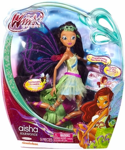 Winx Club Harmonix 11.5 Inch Fashion Doll Aisha