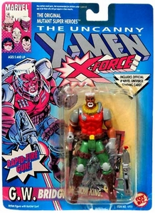 X-Men Toy Biz Uncanny X-Men G. W. Bridge [X-Force]