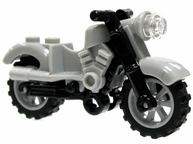 LEGO LOOSE Vehicle Gray Light Motorcyle
