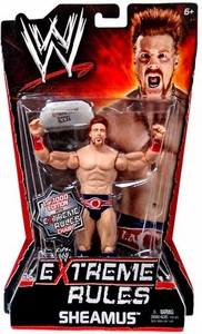 Mattel WWE Wrestling Extreme Rules PPV Series 10 Action Figure Sheamus [Limited Edition 1 of 1000] with Extreme Rules Chair!