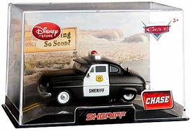 Disney / Pixar CARS Movie Exclusive 1:43 Die Cast Car In Plastic Case Sheriff [Chase Edition]