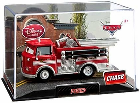 Disney / Pixar CARS Movie Exclusive 1:43 Die Cast Car In Plastic Case Red [Chase Edition]