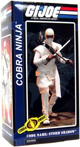 GI Joe Sideshow Collectibles 12 Inch Deluxe Action Figure Storm Shadow