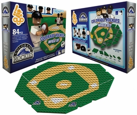 OYO Baseball MLB Generation 1 Team Field Infield Set Colorado Rockies Pre-Order ships April