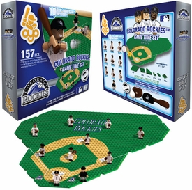 OYO Baseball MLB Generation 1 Team Field Game Time Set Colorado Rockies Pre-Order ships April
