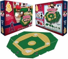 OYO Baseball MLB Generation 1 Team Field Infield Set Los Angeles Angels