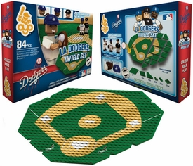 OYO Baseball MLB Generation 1 Team Field Infield Set Los Angeles Dodgers Pre-Order ships April