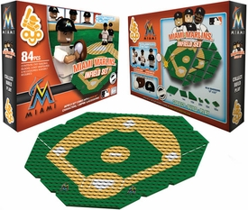 OYO Baseball MLB Generation 1 Team Field Infield Set Miami Marlins Pre-Order ships March
