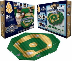OYO Baseball MLB Generation 1 Team Field Infield Set Milwaukee Brewers Pre-Order ships March