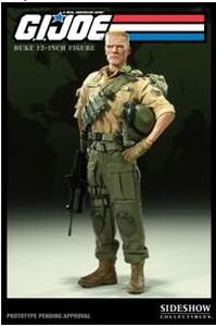 GI Joe Sideshow Collectibles 12 Inch Deluxe Action Figure Duke