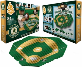 OYO Baseball MLB Generation 1 Team Field Infield Set Oakland A's Pre-Order ships April