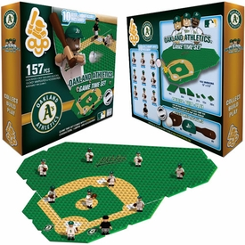 OYO Baseball MLB Generation 1 Team Field Game Time Set Oakland A's Pre-Order ships March