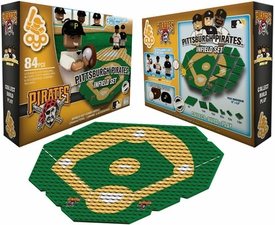 OYO Baseball MLB Generation 1 Team Field Infield Set Pittsburgh Pirates