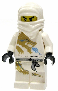 LEGO Ninjago LOOSE Mini Figure Zane [Version 2]