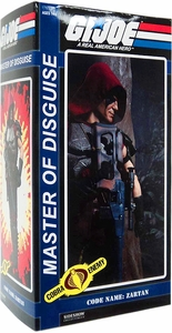 GI Joe Sideshow Collectibles 12 Inch Deluxe Action Figure Zartan [Master of Disguise]