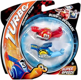 Turbo Movie Vehicle 2-Pack Burn vs Skidmark
