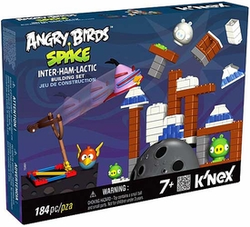 Angry Birds Space K'NEX Set #72401 Inter-Ham-Lactic