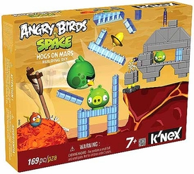 Angry Birds Space K'NEX Exclusive Set #72549 Hogs on Mars