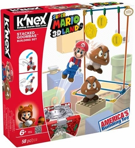 Super Mario K'NEX Set #38419 Stacked Goomba's