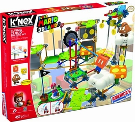 Super Mario K'NEX Set #38528 Flying Cloud