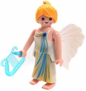 Playmobil Fi?ures Series 4 LOOSE Mini Figure Angel with Harp