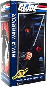 GI Joe Sideshow Collectibles 12 Inch Deluxe Action Figure Cobra Ninja Warrior [Code Name Black Dragon Ninja]