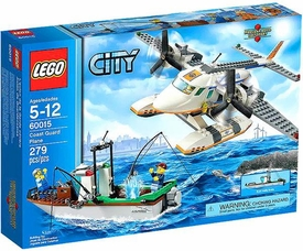 LEGO City Exclusive Set #60015 Coast Guard Plane