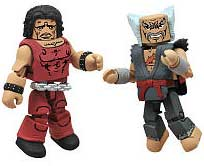 Street Fighter X Tekken Minimates Series 2 LOOSE Mini Figure 2-Pack Hugo vs Heihachi