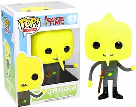 Funko POP! Adventure Time Vinyl Figure Lemongrab New!