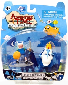 Adventure Time 2 Inch Mini Figure 2-Pack Finn & Ice King