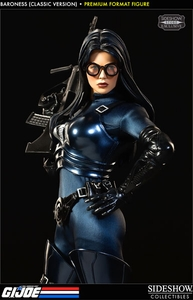 GI Joe Sideshow Collectibles Premium Format 1/4 Scale Statues Baroness [Classic Version]>