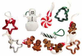 Goloops! Friends Charms for Rainbow Band Loom Bracelets Holiday Christmas Charms (12 Charms)