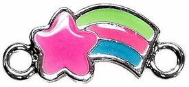 Undee Bandz Rubbzy Enamel Glow-in-the-Dark Rubber Band Bracelet Charm Shooting Star BLOWOUT SALE!