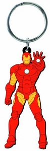 Marvel Soft Touch PVC Keyring Iron Man Pre-Order ships April