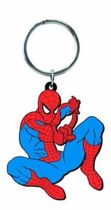 Marvel Soft Touch PVC Keyring Spider-Man Pre-Order ships April