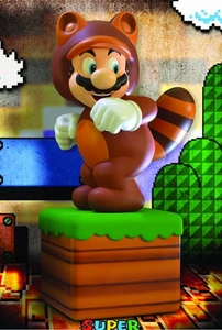 Super Mario 3D Land Statue Tanooki Suit Mario Pre-Order ships April