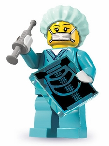 LEGO Minifigure Collection Series 6 LOOSE Mini Figure Surgeon