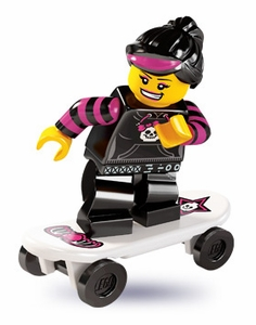 LEGO Minifigure Collection Series 6 LOOSE Mini Figure Skater Girl