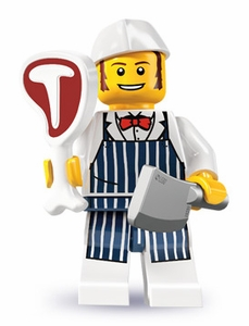 LEGO Minifigure Collection Series 6 LOOSE Mini Figure Butcher