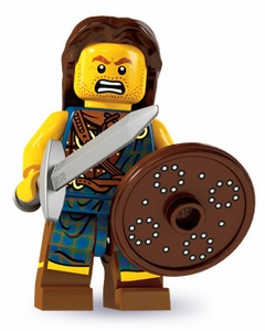 LEGO Minifigure Collection Series 6 LOOSE Mini Figure Highland Battler