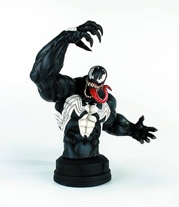 Marvel Spider-Man Gentle Giant 8.5 Inch Deluxe Mini Bust Venom