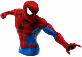 Monogram Marvel Comics Bust Bank Spider-Man