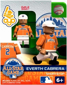 OYO Baseball MLB Generation 2 Building Brick Minifigure Everth Cabrera [National League]