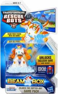 Transformers Rescue Bots Beam Box Game Pack Blades