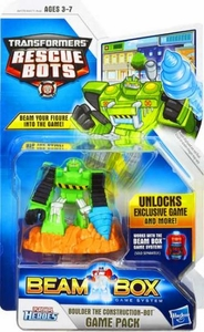 Transformers Rescue Bots Beam Box Game Pack Boulder
