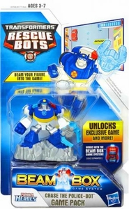 Transformers Rescue Bots Beam Box Game Pack Chase Pre-Order ships April