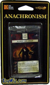 Anachronism Card Game Warrior Pack Briton Alfred the Great BLOWOUT SALE!